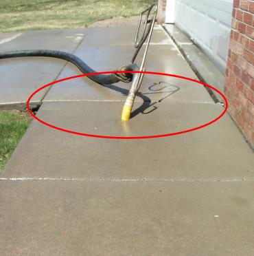 Sidewalk After Concrete Repair